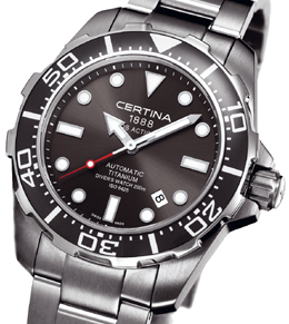 Certina DS Action Diver in titanium